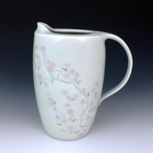 3-Kuo-CherryBlossomBranchPitcher